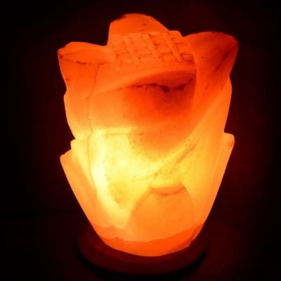 Солевая лампа Роза
