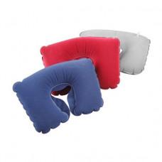 Подушка надувная с вырезом под голову (красный) F 8052