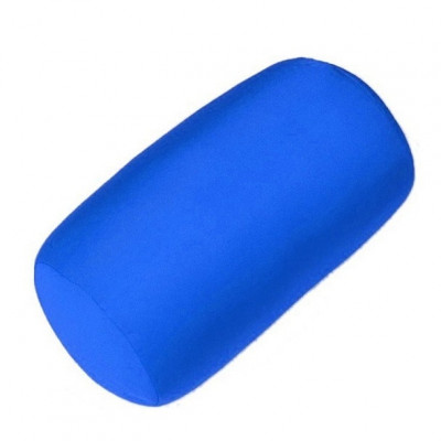 Подушка под голову валик F 8032 Синий