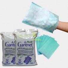 Рукавицы губка одноразовая GANTNET+PLUS