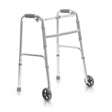 Ходунки инвалидные на 2-х колесах Армед FS9125L