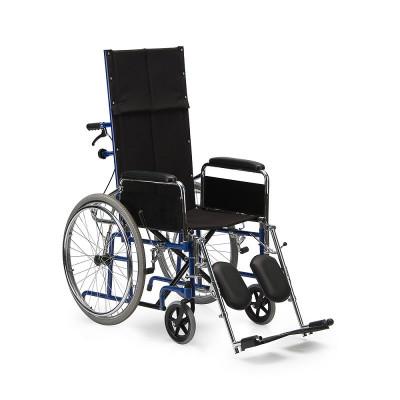 Кресло-коляска для инвалидов со складной спинкой Н 008