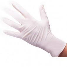 Перчатки белые (нитрловые, гладкие)